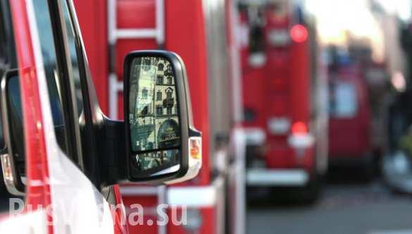 Ранг сложности пожара на ТМЗ в Тушино снижен до второго