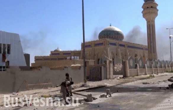 Войска Ирака освободили командную базу от боевиков ИГИЛ
