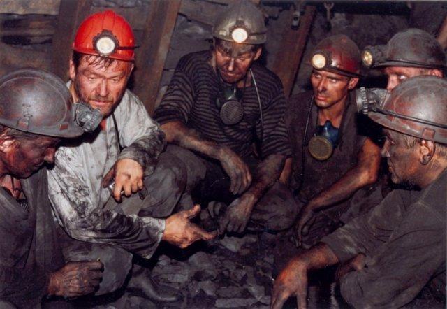 Забастовка украинских шахтеров