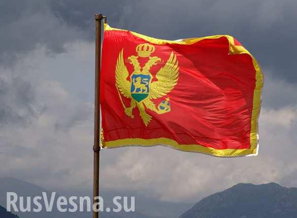 Митинг против вступления Черногории в НАТО проходит в Подгорице