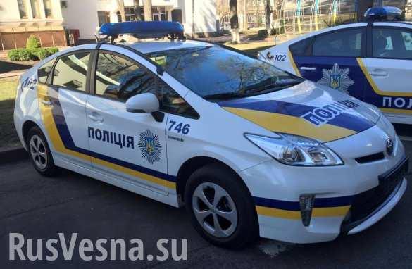 Психически неуравновешенные ветераны ВСУ устраивают беспорядки в Киеве (ВИДЕО)