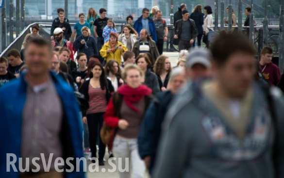 Более половины немцев боятся за свое будущее