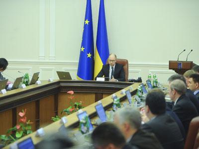 Кабмин Украины «отмывает» премьер-министра Яценюка, да и себя заодно