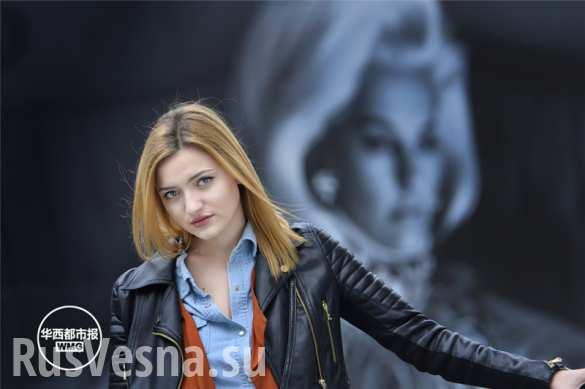 В китайском городе Чэнду половина иностранных моделей — из Украины
