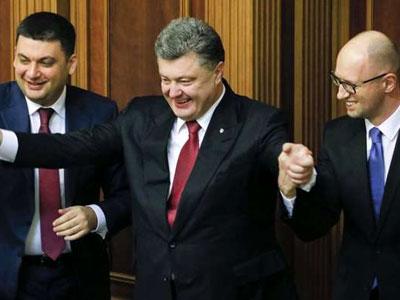 Власть Украины не верит в то, о чем говорит: совместное заявление президента, премьера и спикера парламента Верховной рады