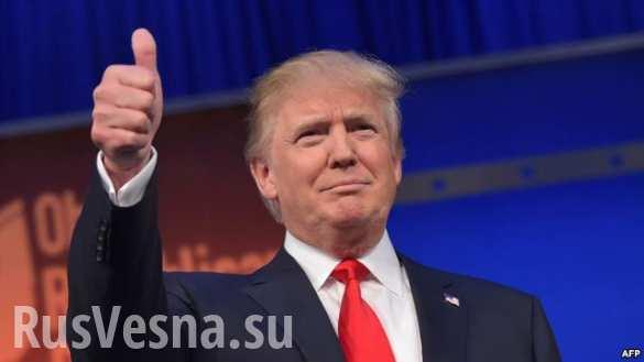 Дональд Трамп: «Для меня комплимент Путина — большая честь»