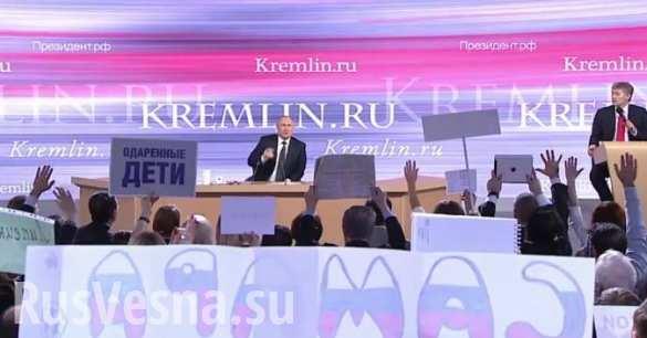 Пять самых обсуждаемых ответов Путина в западных СМИ
