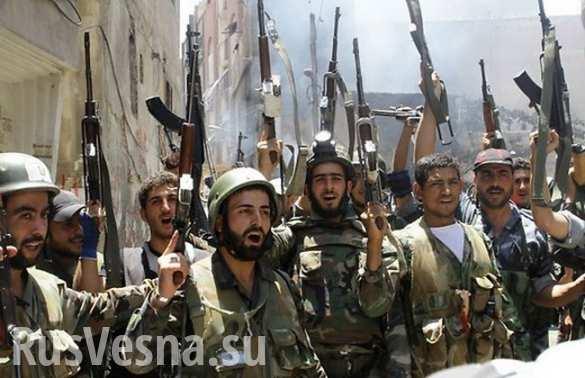 Сирийская армия заняла аэродром в окрестностях Дамаска (ВИДЕО)