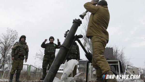 Украинские силовики обстреляли поселок Жабичево и «Вольво-Центр» на окраине Донецка