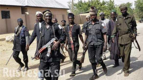 Добыча нефти в Нигерии упала на треть из-за нападений боевиков