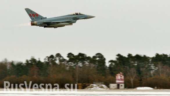 Истребители британских ВВС сопровождали российские самолеты над Балтикой, — минобороны Великобритании