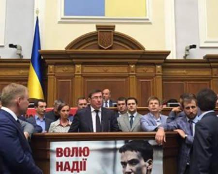 Кум Порошенко стал генеральным прокурором Украины