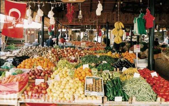 Россельхознадзор запретит все овощи и фрукты из Турции