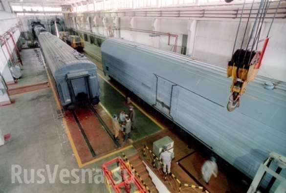 Россия начала работу по созданию «ядерного» поезда «Баргузин» (ФОТО) | Русская весна