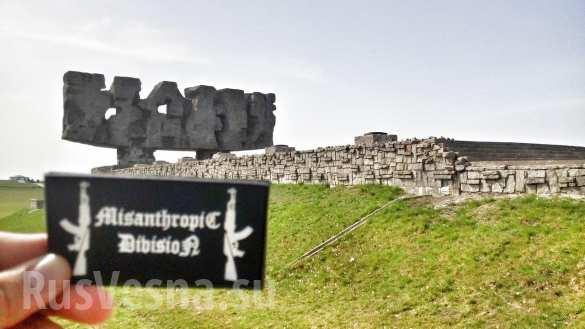 Двое украинцев арестованы в Польше за «зиги» в концлагере Майданек (ФОТО) | Русская весна
