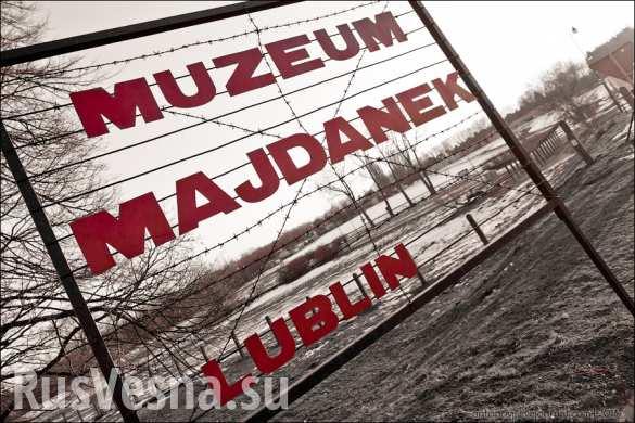 Двое украинцев арестованы в Польше за «зиги» в концлагере Майданек (ФОТО)
