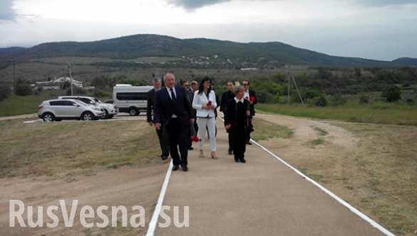 В Крым приехали депутаты из Италии (ФОТО)