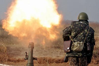Обстрел севера Донецка и Трудовских