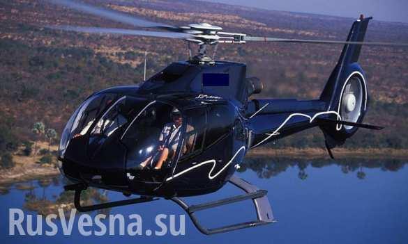 СРОЧНО: В Ленинградской области вертолет упал в озеро