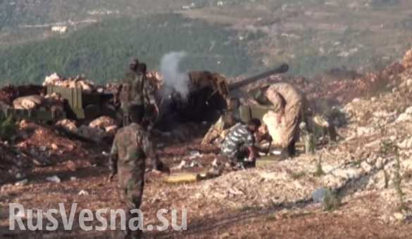 Сводка от «Тимура»: боевики атакуют и готовятся к наступлениям под Пальмирой, Дамаском и в Латакии, ВВС уничтожили 16 главарей «ан-Нусры»