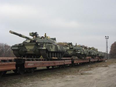 Военный транзит через Славянский Курорт