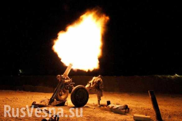 ВСУ за вечер выпустили более 170 мин по селу Саханка на юге ДНР