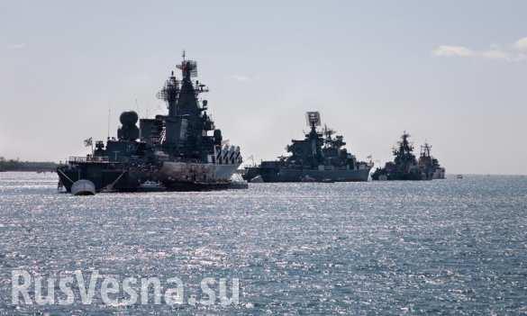 НАТО считает, что России не место в Черном море