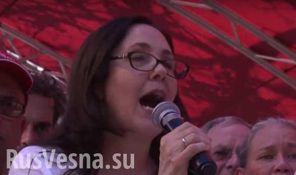 Племянница Фиделя Кастро возглавила гей-парад на Кубе (ВИДЕО)