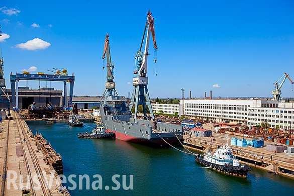 Что вернулось в Россию с Крымом — уникальные верфи керченского завода «Залив» (ФОТО)
