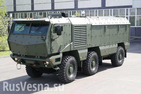 ВДВ начнут испытания бронеавтомобиля «Тайфун» в конце года (ФОТО)