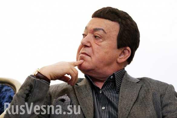 Кобзон готов спеть на «Евровидении» на украинском языке