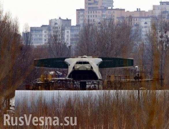 Несбывшаяся «Мрия»: пока украинцы летают на одном самолете, второй гниет на пустыре (ФОТО)