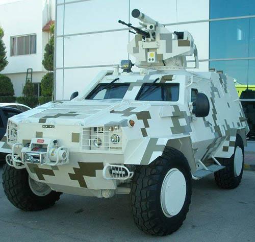 Очередная военная разработка от Украины: компьютеризированный пулеметно-гранатометный модуль для боевой техники