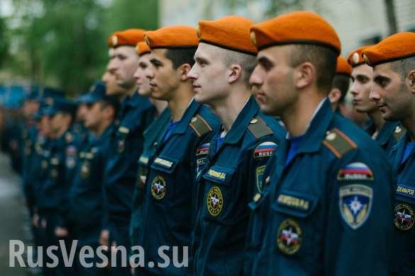 Спецотряды МЧС «Лидер» отправились разминировать Сербию, Крым и Южную Осетию (ФОТО, ВИДЕО)