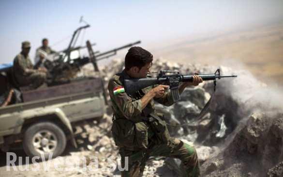 Впечатляющие кадры: курды атаковали турецкий укрепрайон на вершине горы (ВИДЕО)