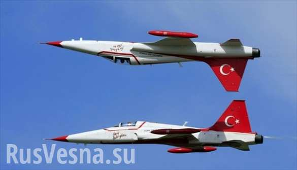 ВВС Турции нарушили воздушное пространство Греции 42 раза за один день