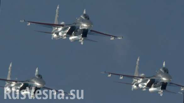 Британские истребители сопровождали 5 самолетов ВКС России над Балтикой