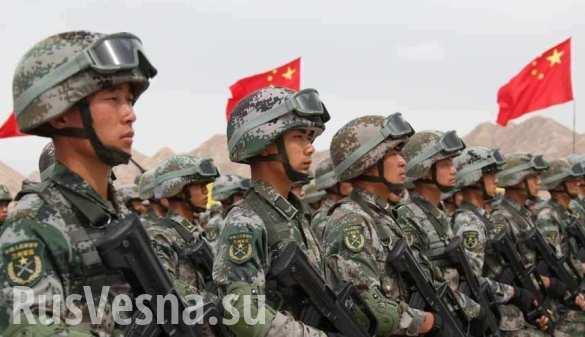 Росгвардия проведет учения с китайскими силовиками
