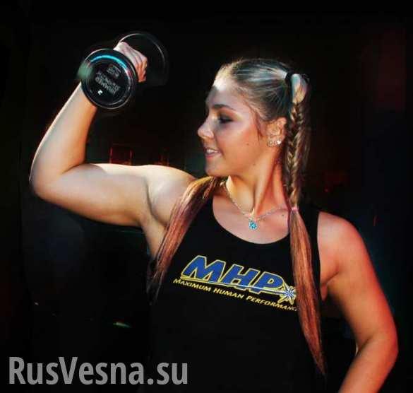 В Донецк приехала самая сильная девушка планеты (ВИДЕО)