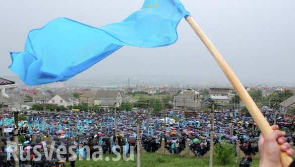 В Крыму открыли мемориал жертвам депортации (ВИДЕО)