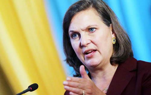 Посланница Вашингтона Виктория Нуланд о выборах на Донбассе: только в рамках Минских соглашений и по украинскому законодательству