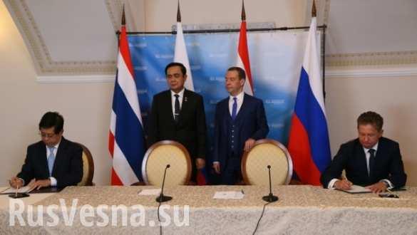 Россия и Таиланд заключили соглашение о военном сотрудничестве