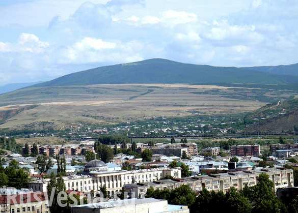 В Южной Осетии разбился автобус с российскими военными, есть погибшие