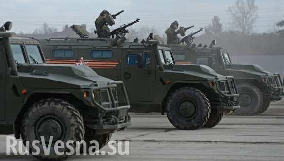 Боевой потенциал российской армии за три года повысился более чем на 30%