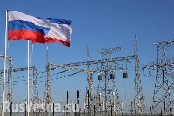 Сбой электроснабжения в Крыму произошел из-за ДТП, — Минэнерго
