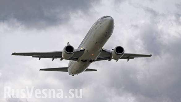 Пилоты американского Boeing заснули во время полета