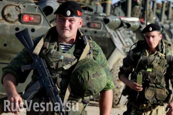 Арабские СМИ заявили, что российские морпехи ведут наступление на ИГИЛ под Пальмирой