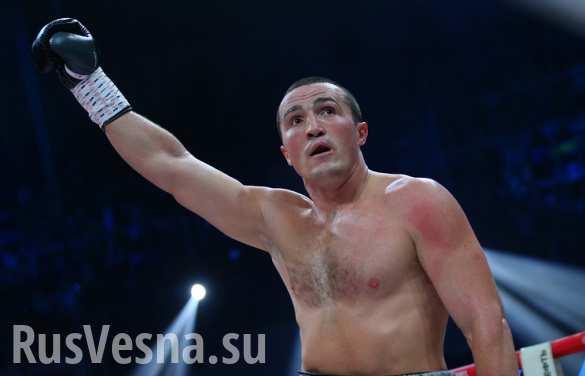 Лебедев победил нокаутом Рамиреса и завоевал второй чемпионский пояс