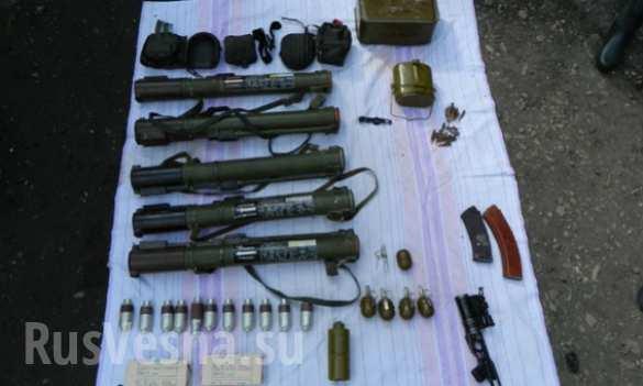 В руках жителей украинских сел — оружейные арсеналы (ФОТО) | Русская весна