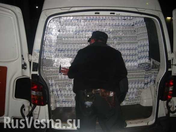Закарпатец пытался вывезти в Венгрию 57 тысяч пачек сигарет (ФОТО)